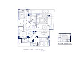 Residences Evelyn Floor Plan by Ewm Realtors Parque Towers At St Tropez In Sunny Isles Beach