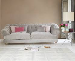 Chesterfield Sofa Linen by Corner Chesterfield Sofa Grey Memsaheb Net