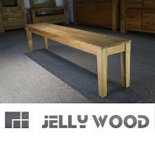 Esszimmer Massivholz Eiche Jellywood Isar Massive Sitzbank 180 X 33 Cm Holzbank Bank