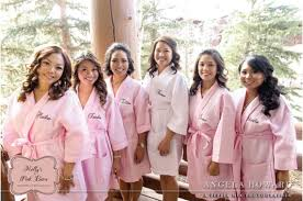 waffle robes for bridesmaids fast free shipping personalized bridesmaids robes embroidered