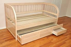 daybed unfinished wood daybed sleigh frame unfinished wood