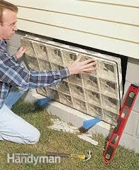Basement Window Installation Cost by Installing Glass Block Windows In Basement Family Handyman