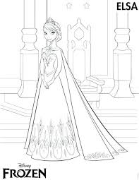 Anna Frozen Coloring Page World Of Craft Frozen Free Coloring Pages