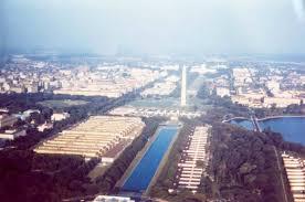 Washington Dc National Mall Map by National Mall History National Mall Coalition