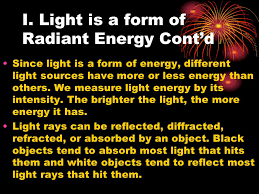 Is Light Energy Science 8 Unit C U2013 Light And Optical Systems Topic 1 What Is