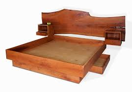 cherry platform bed david stine