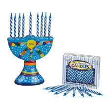 hanukkah candles colors 4 25 painted colorful ceramic chanukah hanukkah menorah with