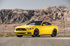 different mustang models 2016 ford mustang gt test review motor trend