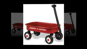 Radio Flyer Wagons Used How To Tell Age Small Radio Flyer Wagon Youtube