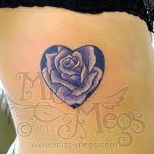heart tattoo u2013 fabulous lovely rose design tattooshunter com