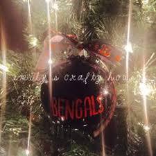 nfl cincinnati bengals 4 ornaments by marilynschimmeyer