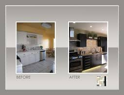 Before And After Home Decor by Before And After Pics Of Kitchens On A Budget Home Design And