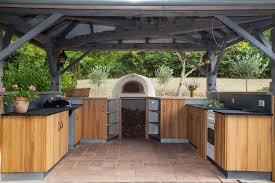 cuisine d exterieur meuble cuisine exterieure bois meuble cuisine ensemble bois clair
