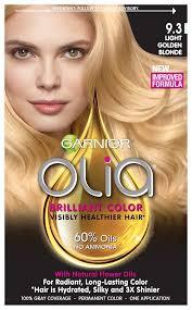 garnier nutrisse 93 light golden blonde reviews garnier olia oil powered permanent hair color 9 3 light golden