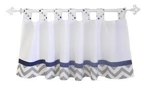 Blue Valance Curtains Navy And Gray Curtain Valance Nursery Curtain Valance Navy And