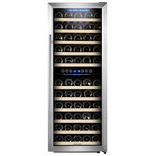kalamera 73 bottle dual zone freestanding wine cooler u0026 reviews