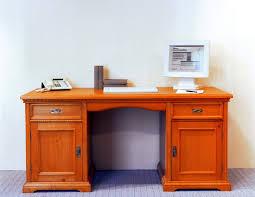 Schreibtisch Dunkelbraun Massiv Schreibtisch Computertisch Arbeitstisch Bürotisch Fichte Massiv