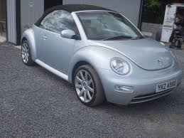 diesel volkswagen beetle 2005 diesel vw beetle with 18 in alloys in banbridge county