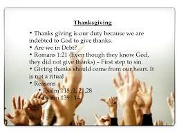 thanksgiving praise and worship