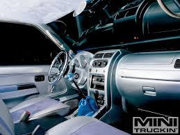 custom nissan 350z interior 2002 nissan frontier custom air bagged trucks mini truckin