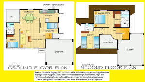open floor house plans two story 2 storey house architectural plan pdf two home designs double