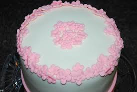 pink flower birthday cake meg u0027s lovey cakes