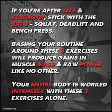 Squats Deadlifts And Bench Press 3676 Best Effective Deadlift Exercises Images On Pinterest