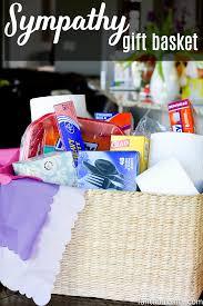 condolence baskets sympathy gift basket idea sympathy gift baskets bereavement and