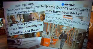 home depot investigates possible data breach cbs news