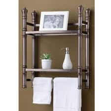 Dark Brown Bathroom Accessories by Bathroom Organization U0026 Shelving Shop The Best Deals For Oct