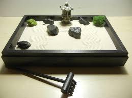 special small zen garden with pagoda diy kit