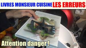 recettes cuisine plus livres de recettes monsieur cuisine les erreurs silvercrest lidl