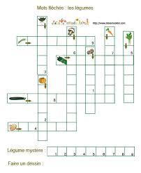 jeu de mots fléchés des légumes jeux de mots fléchés mots