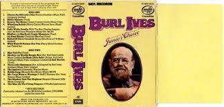 cassette album burl ives junior choice for pleasure uk