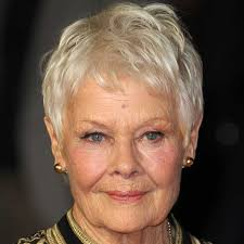 how to get judi dench hairstyle short hairstyles for fine or thin hair good housekeeping
