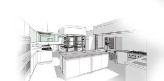 Comercial Kitchen Design by Kitchen Design Sketch Stirring 1 Completure Co