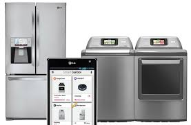 smart items for home lg to showcase connected easy to control smart home appliances at