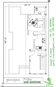 Plumbing Floor Plan 25x45 House Plan Elevation 3d View 3d Elevation House