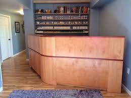 Custom Made Reception Desk Custom Made Reception Desk By Parkinsons Custom Woodworks