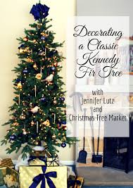 decorating a classic kennedy fir with diy decorations christmas