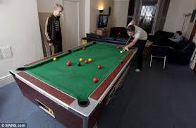 smallest room for a pool table britain s biggest student house in plymouth home to 32