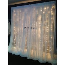 wedding backdrop with lights led backdrop lights led backdrops drapes with voile organza wide