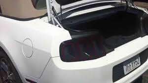 mustang convertible trunk ford mustang convertible 2005 2014 trunk space