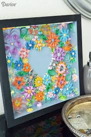 quilling wall art tutorial home decor ideas great lovely home