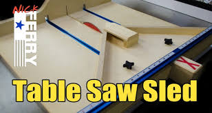miter cuts on table saw table saw cross cut miter sled in one ep58