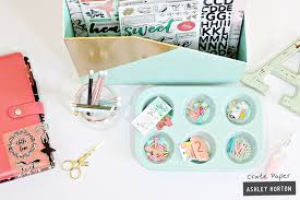 How To Keep Your Desk Organized Style Your Desk With Craft Office Storage Crate Paper