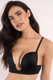 black bra plunging bra u plunge strapless bra black bra