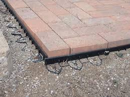 Paver Patio Sand Basic Steps For Building A Paver Patio