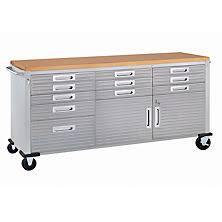 husky 66 in w 24 in d 12 drawer heavy duty mobile workbench workbenches sam u0027s club