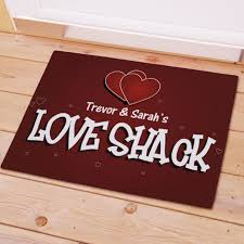 Unique Doormats Personalized Love Shack Personalized Doormat Love Quotes Pinterest